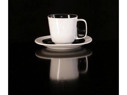 Kávový šálek s podšálkem - Keiko | Luxusní porcelán - Atelier JM Lesov