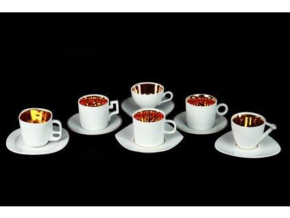 Kolekce šálků Best of Lesov I. | Luxusní porcelán - Atelier JM Lesov