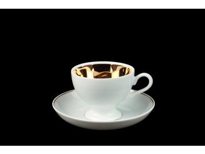 Kávový šálek s podšálkem - Best of Lesov 1 | Luxusní porcelán - Atelier JM Lesov
