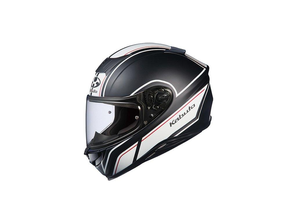 Kabuto Aeroblade 5 Flat Black White