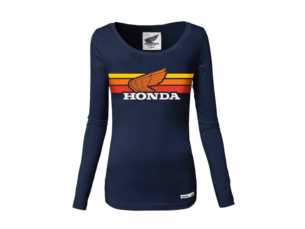 Tričko HONDA- LADY SUNSET T-SHIRT NAVY BLUE