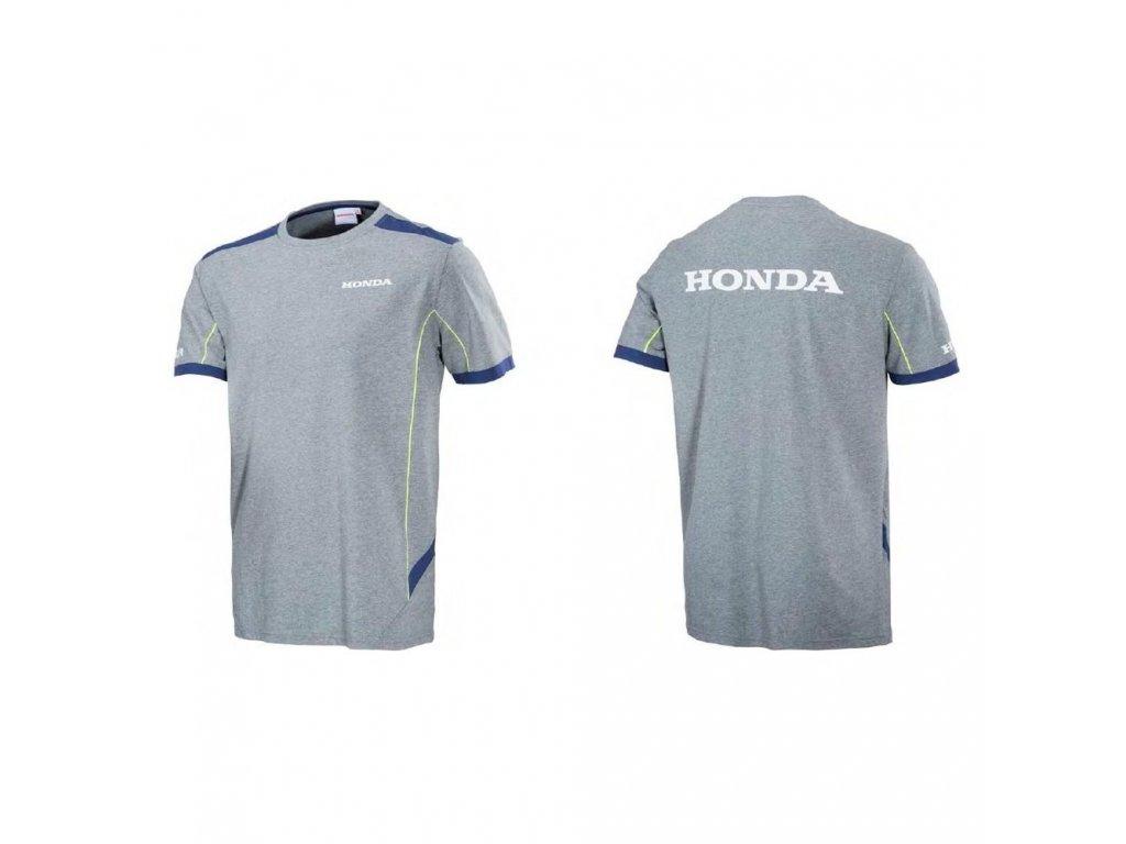 Tričko HONDA- PADDOCK T-SHIRT GREY