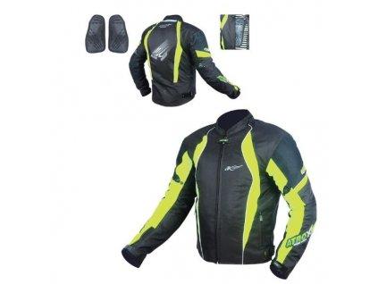 Textilní bunda- MAXX NEON GREEN LETNÍ