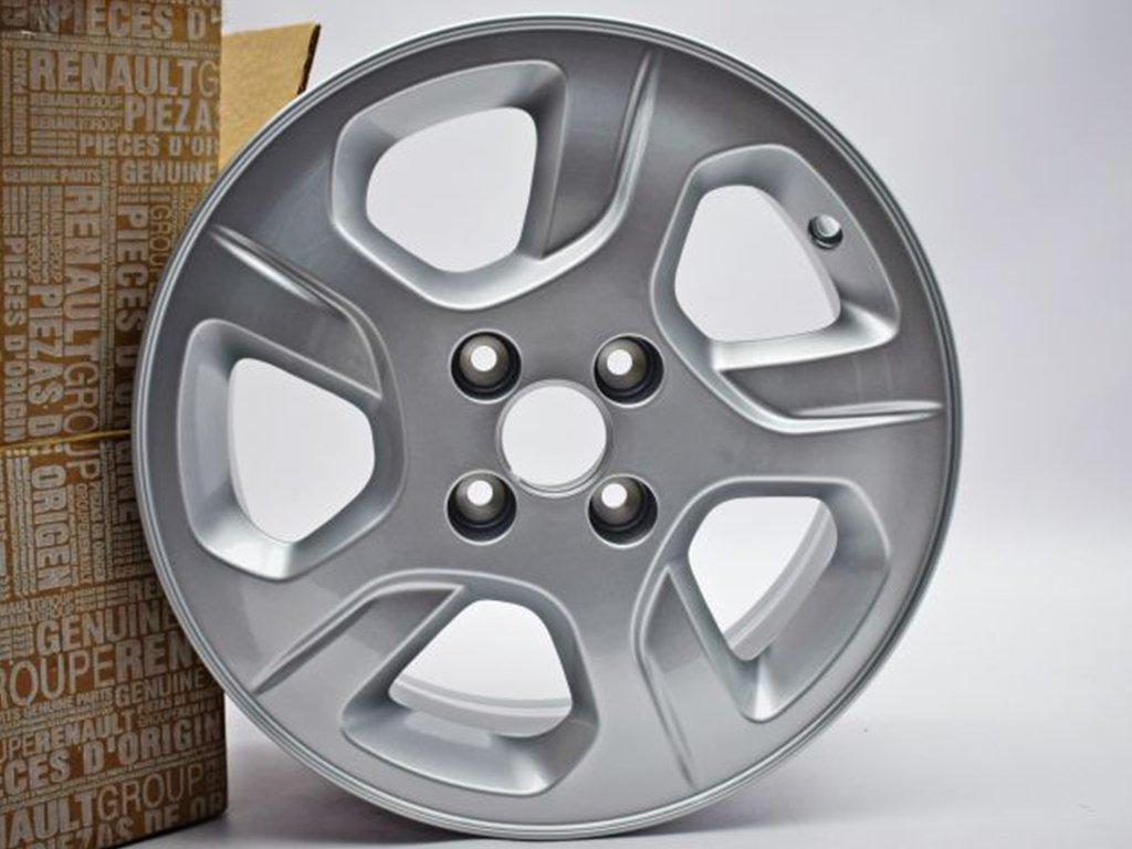 """Hliníkový disk 15"""" Empreinte - stříbrný (Dokker, Dokker VAN, Lodgy)"""