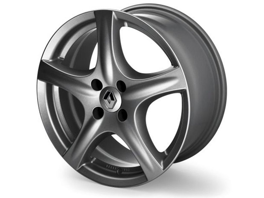 """Hliníkový disk 15"""" Faraway - šedý (Clio IV, Captur)"""