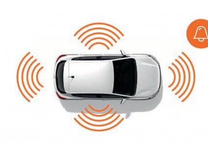 Alarm pro vozy fáze 2 bez předpřípravy + NBI
