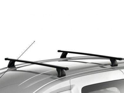Příčné střešní ocelové tyče na podélné lišty (nosnost 75 kg)