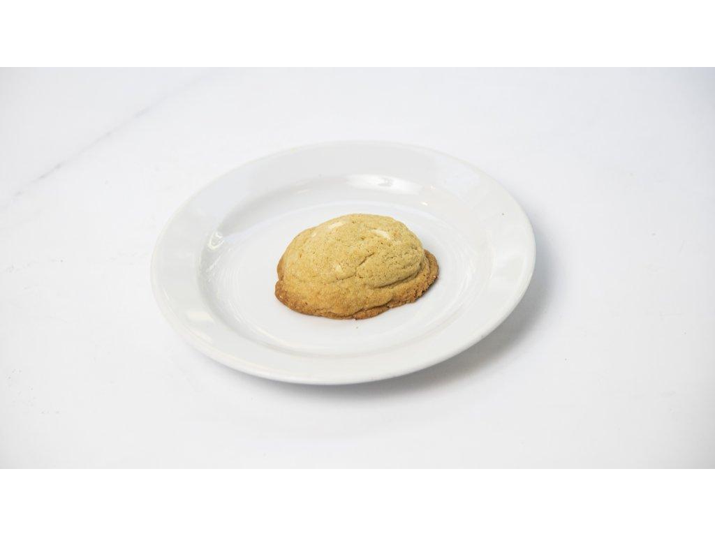 sušenka s bílou čoko a pomerančem