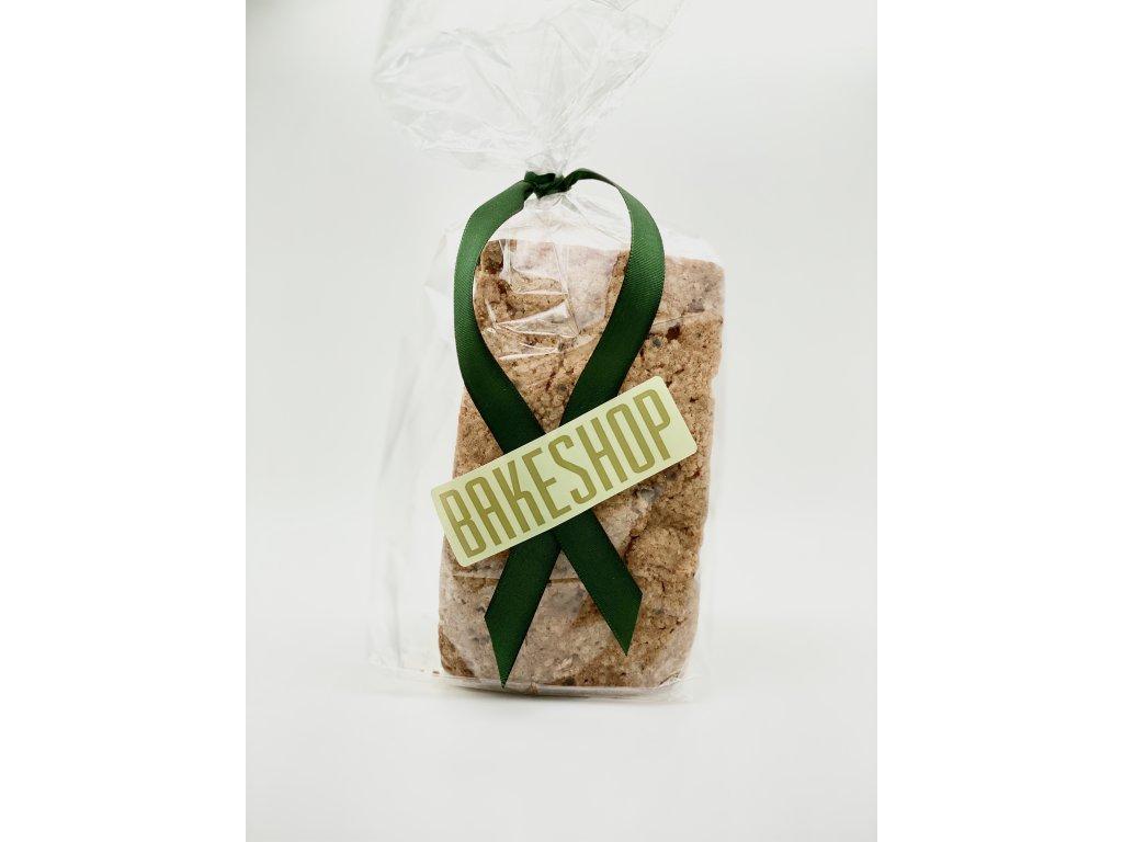 Kávový chlebíček s kysanou smetanou a jablky, Mini