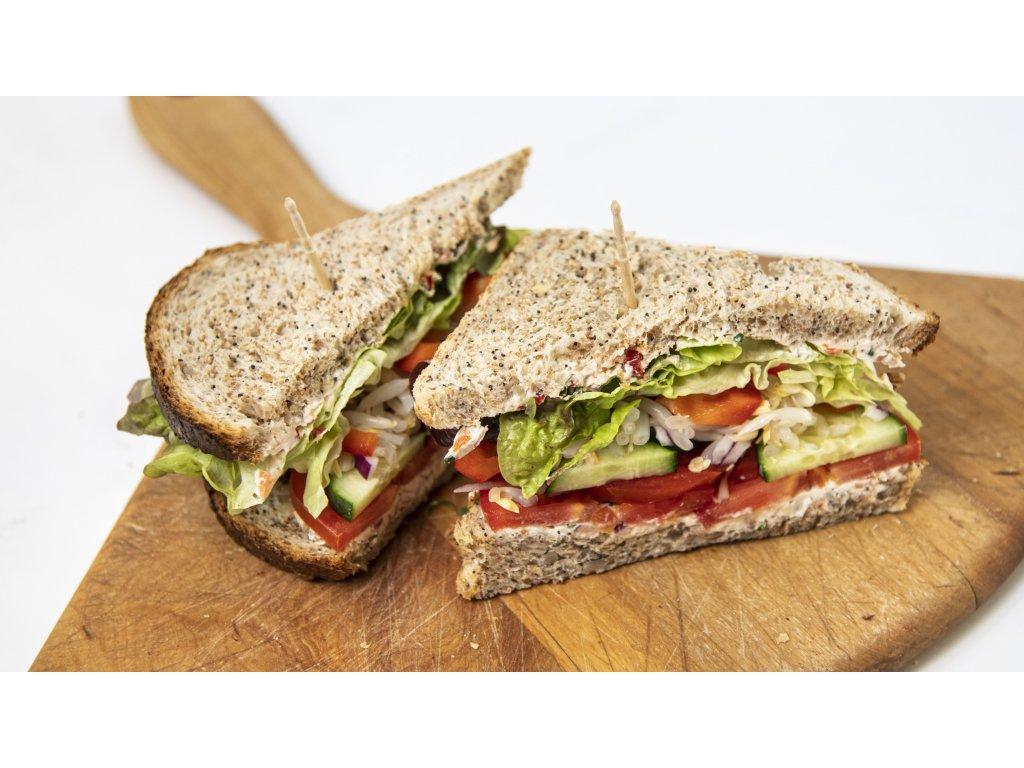 sendvič celozrn zahrádka