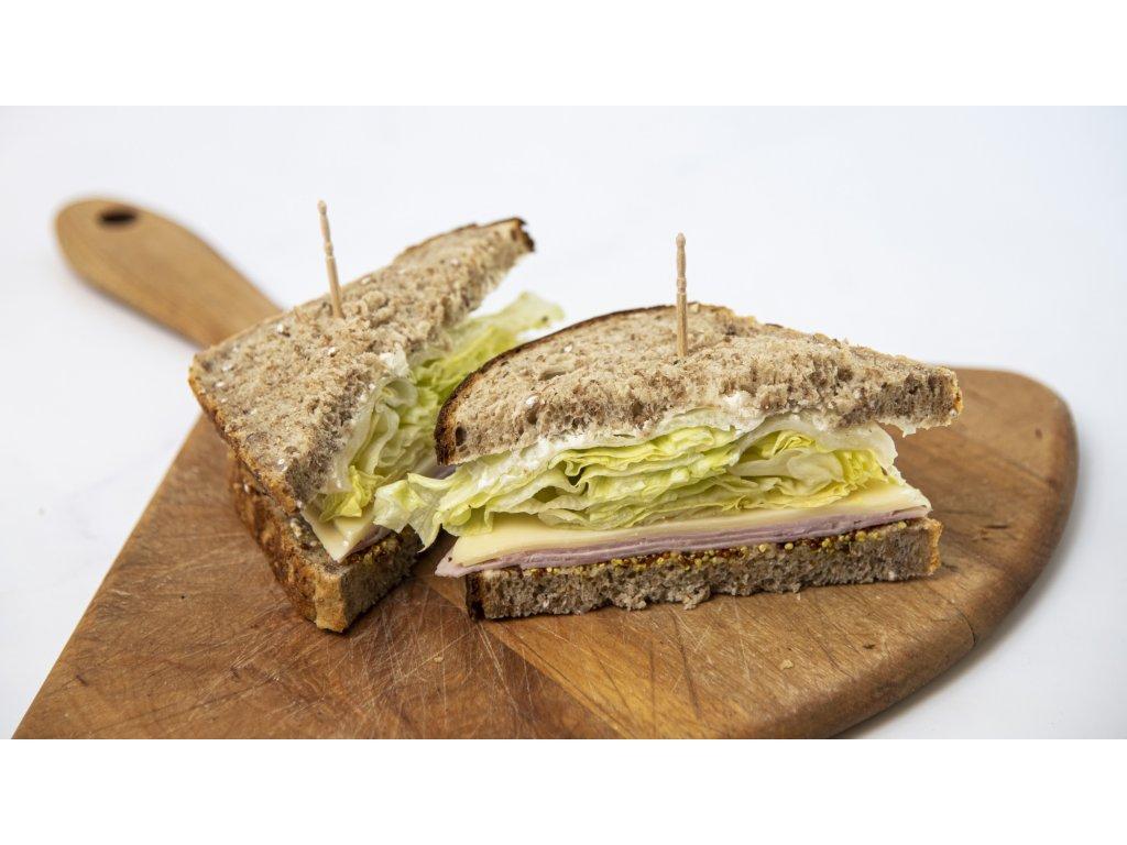 sendvič šunka sýr