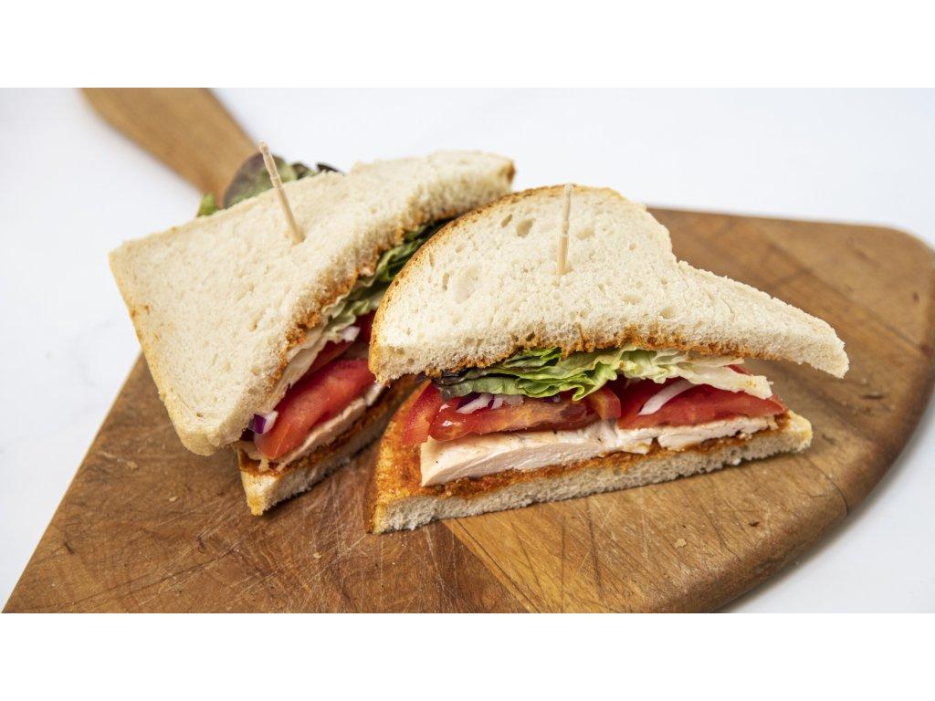 sendvič kuřecí pesto