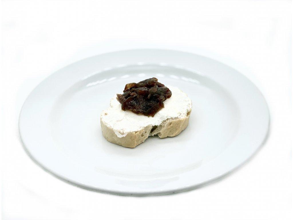 Crostiny s kozím sýrem