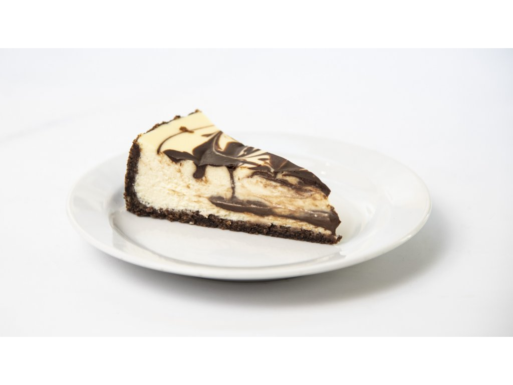 marble cheesecake porce