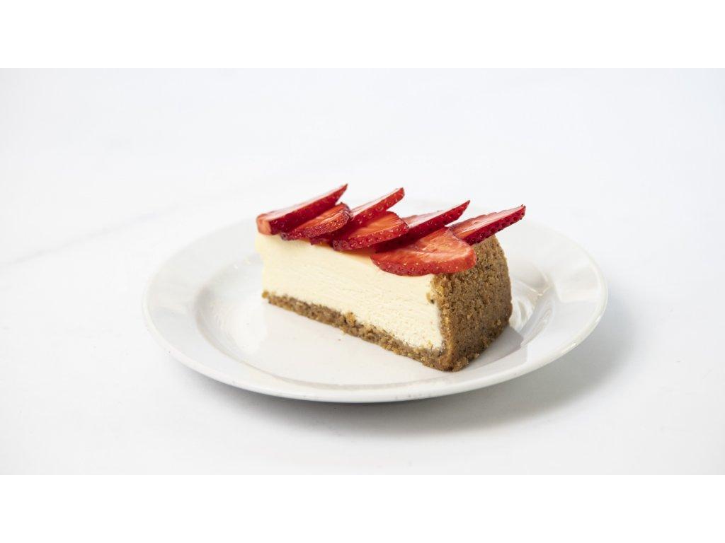ovocný cheesecake porce