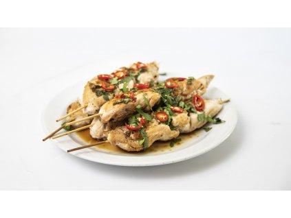 kuřecí špíz thai
