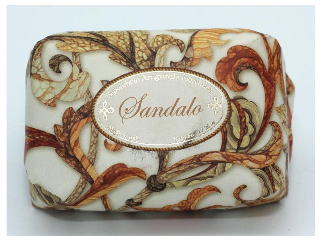 Mýdlo santalové dřevo