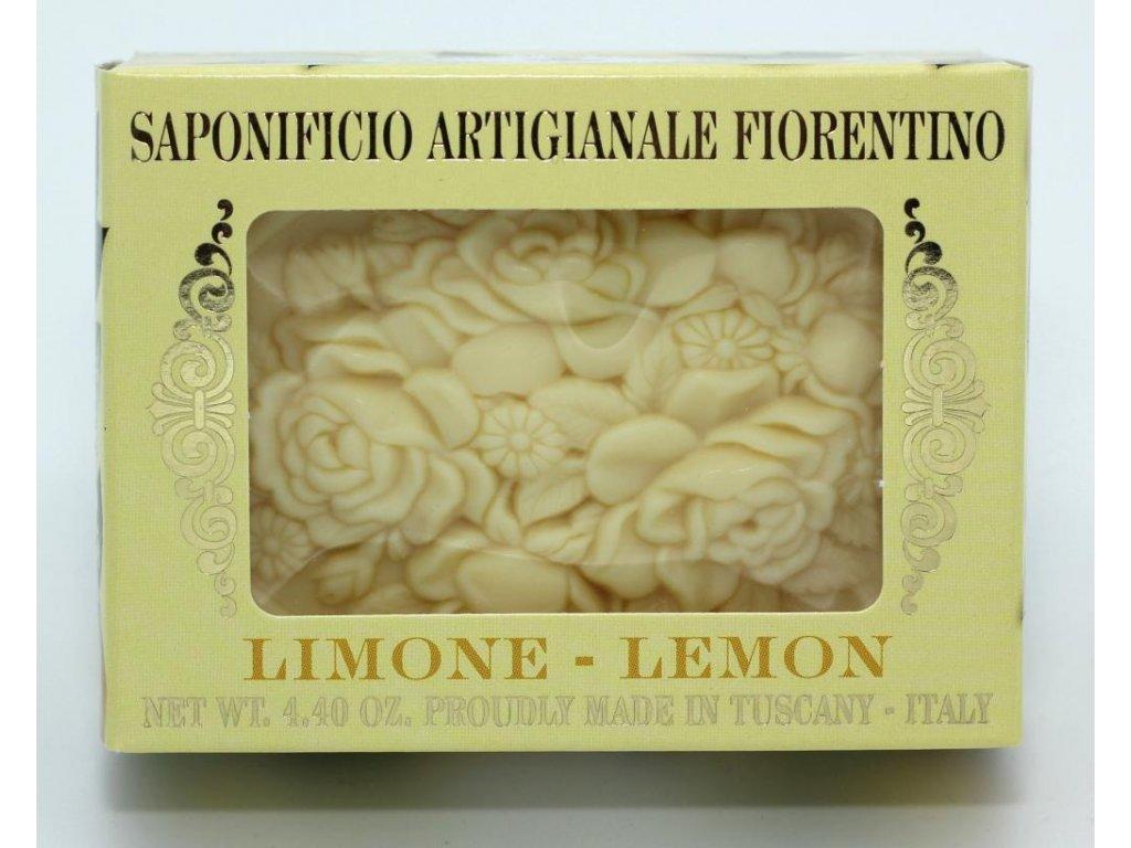 Mýdlo citron v dárkové krabičce
