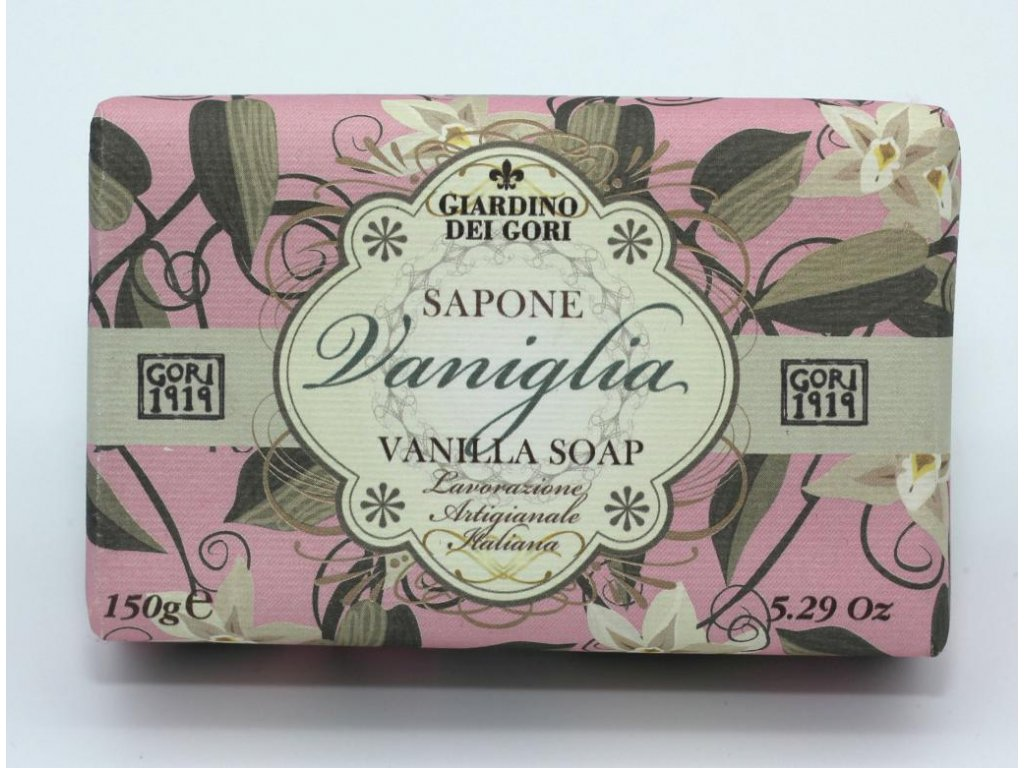 Mýdlo vanilka