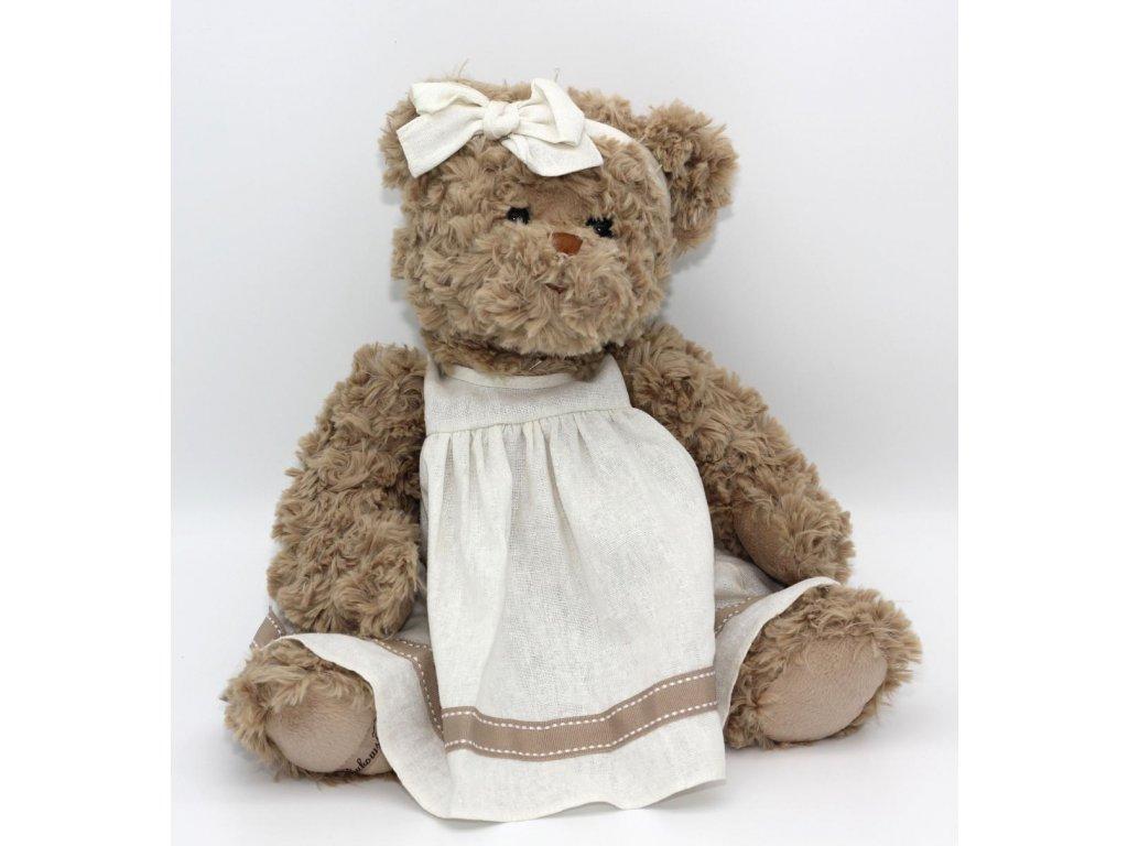 Medvědice hnědá v šatech