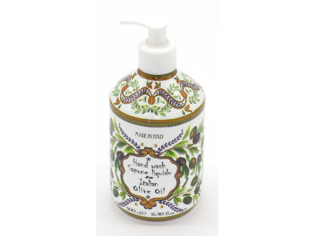 Tekuté mýdlo na ruce Italian olive oil