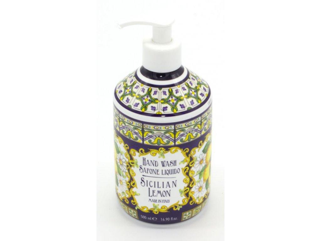 Tekuté mýdlo na ruce Sicilian lemon