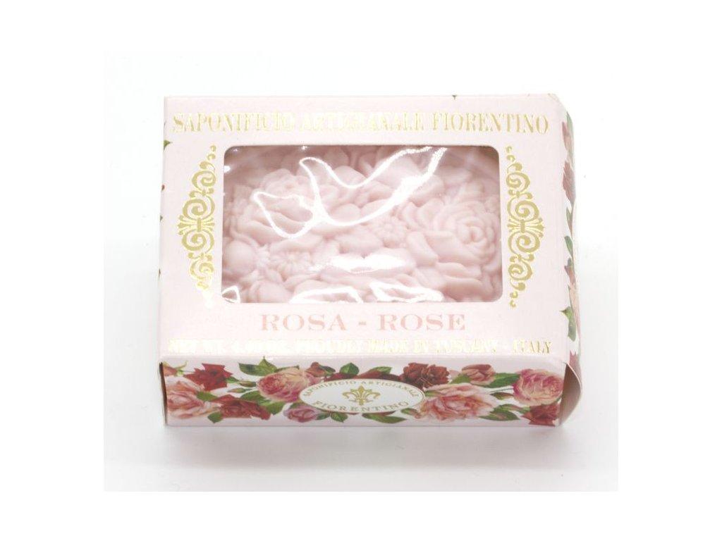 Mýdlo růže v dárkové krabičče