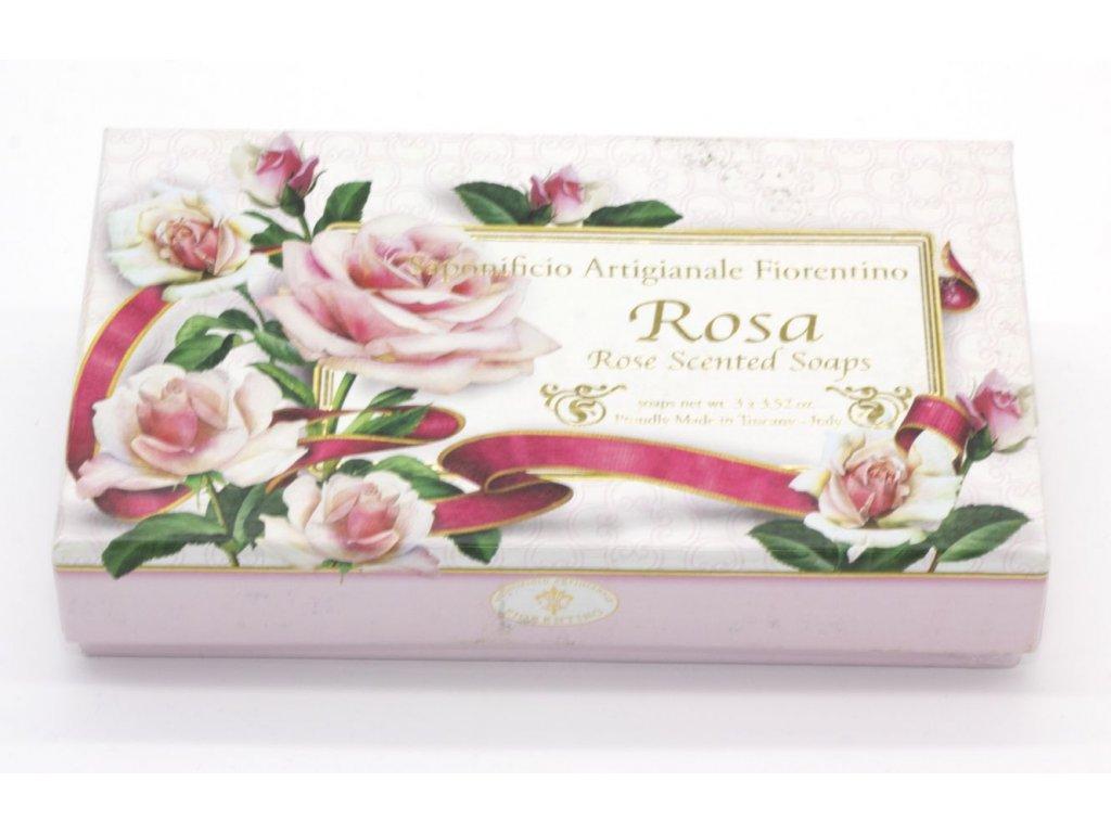 Kazeta mýdel růže