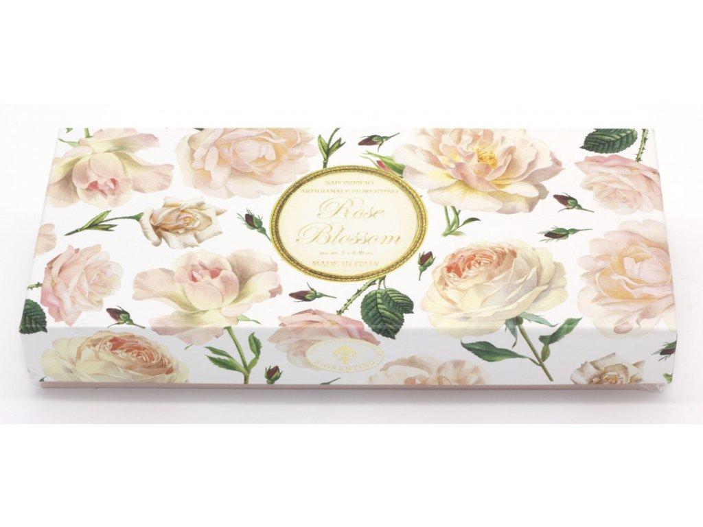 Kazeta mýdel růže ovál