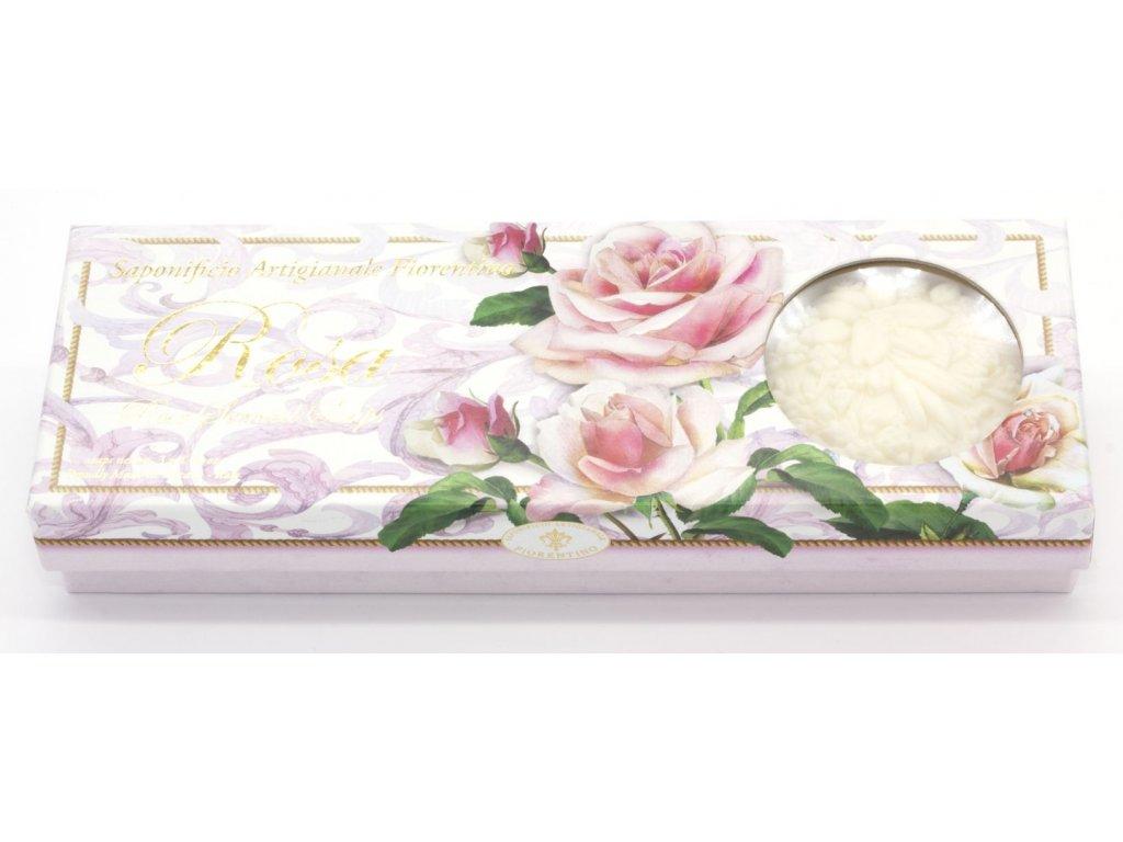 Kazeta mýdel růže vyřezávaná
