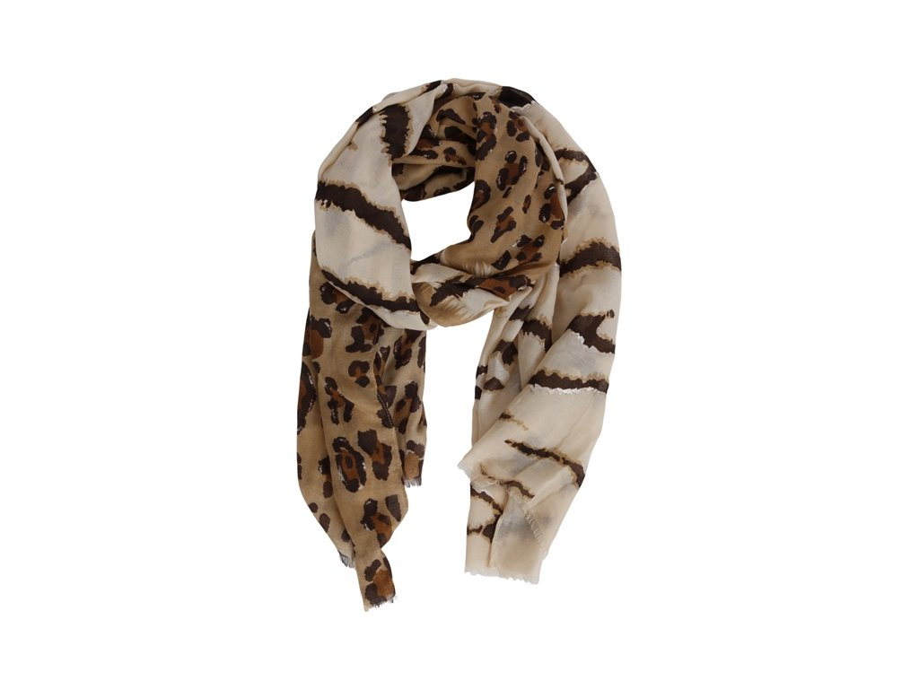 0048605 scarf nora brown 650