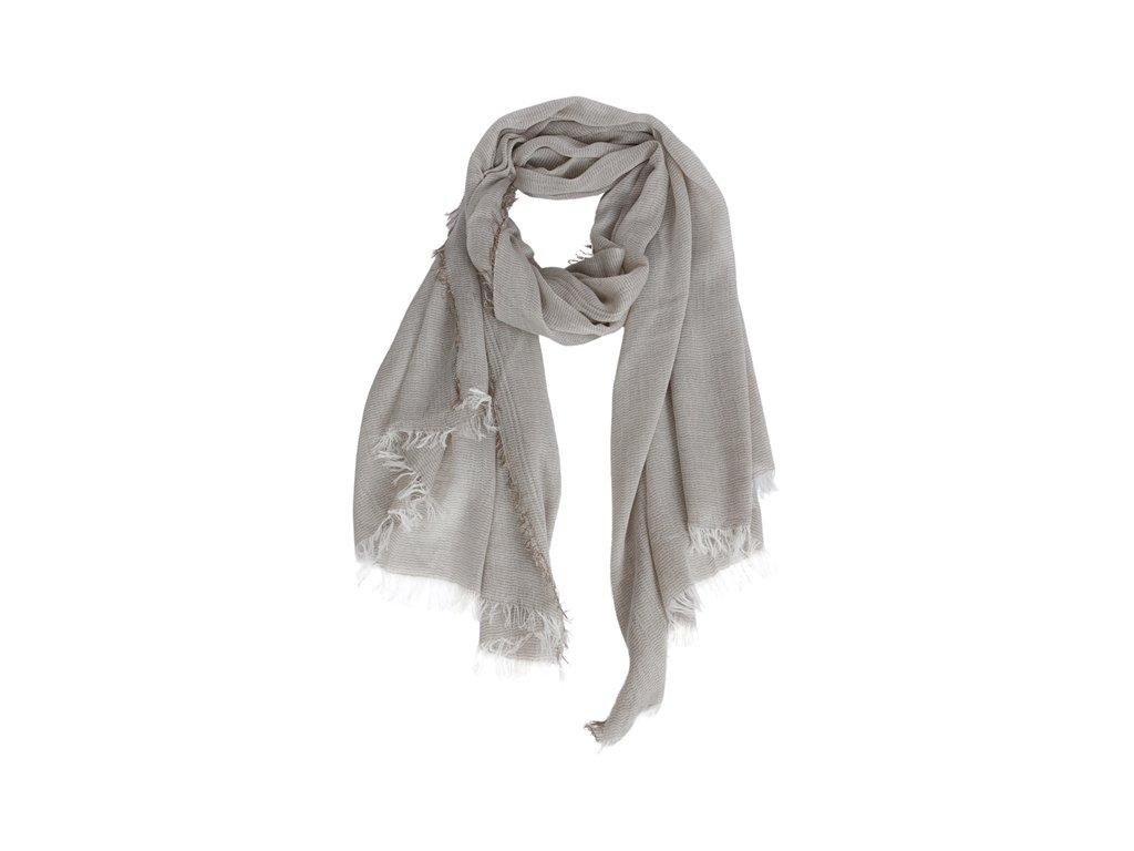 0048743 scarf evelyn beige 650