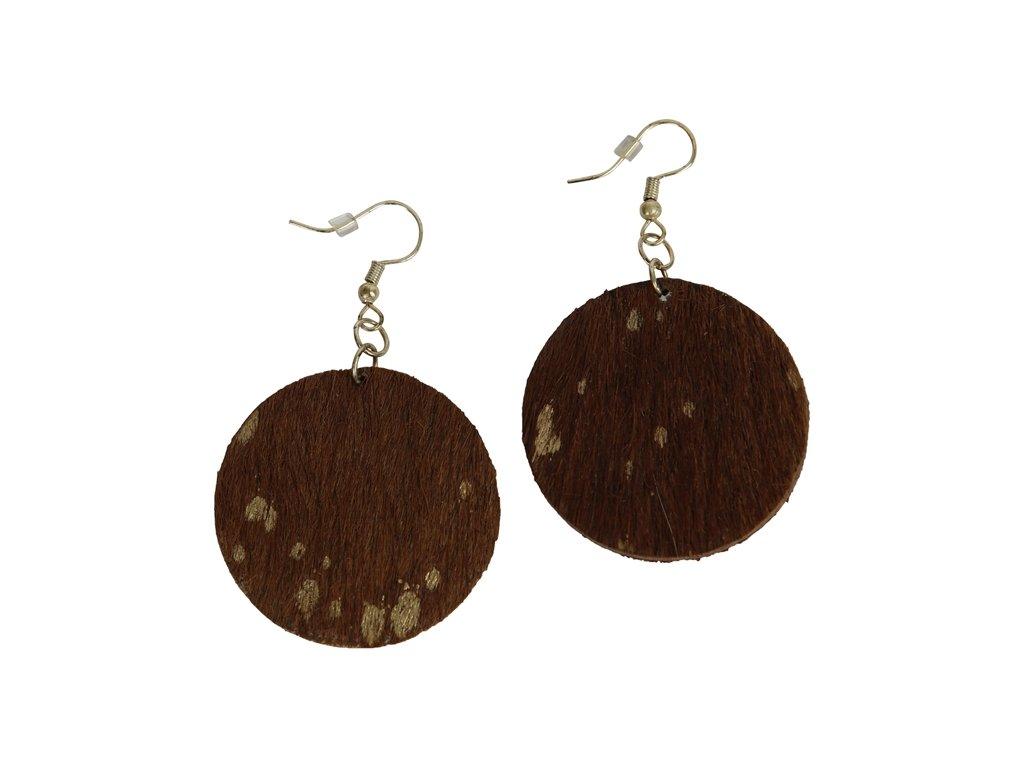 0047242 earring sadie browngold 650