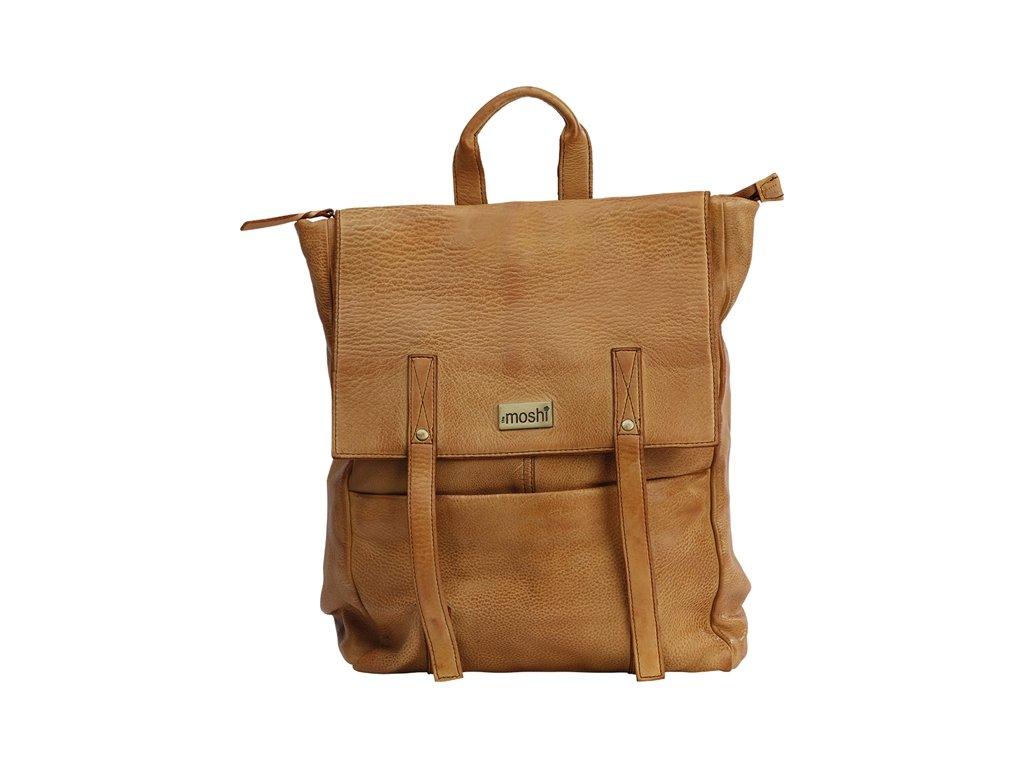 0045542 back pack sofia tan leather 650
