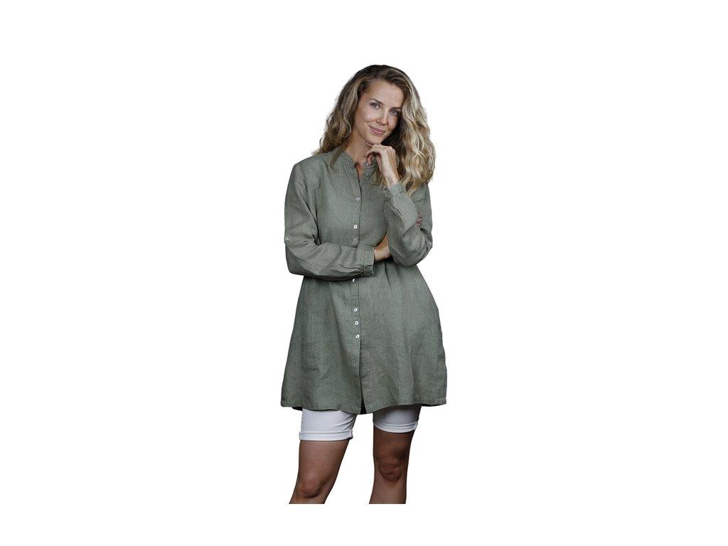 0047175 tunic zoe size medium olive 650