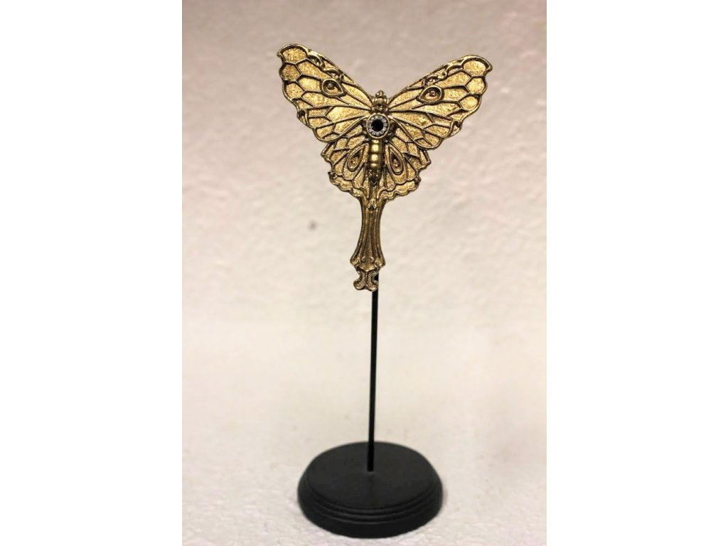 Designová dekorace zlatá 30 cm