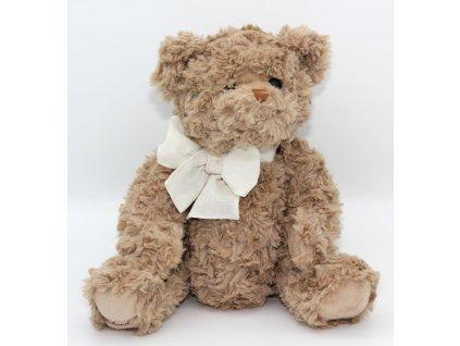 Medvěd hnědý s mašlí