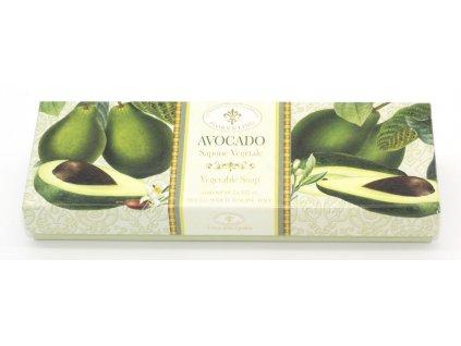 Kazeta mýdel avokádo