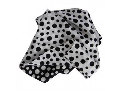 0048534 mini scarf grace blackwhite 650