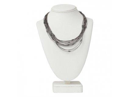 0040401 necklace eden gunmetal 650