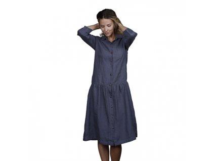 0047129 dress leno charcoal 650