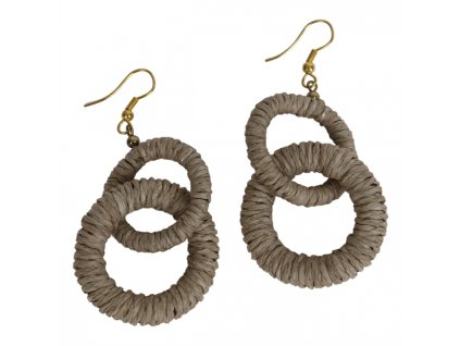 0047319 earring abigail beige 650