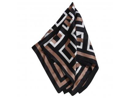 0044330 mini scarf katherine blackbeige