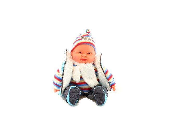 Miminko velké - kluk - světle modrá vesta