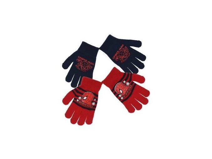 Duopack rukavice SPIDERMAN ho 4253 tm. modro - červené