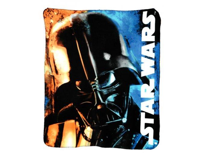 Flísová deka STAR WARS 120 x 140 cm ho 4582