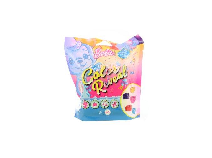 Barbie Color Reveal zvířátko konfety