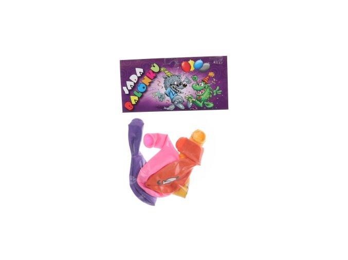 Balónky kulaté farma barevný potisk 4 ks