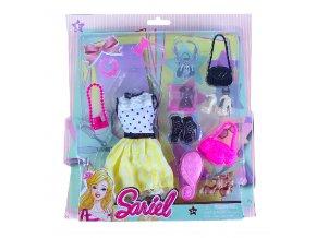 Obleček pro panenky s doplňky