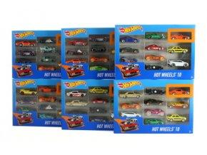 Hot Wheels 10 ks angličák 54886